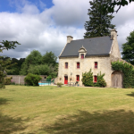 Manoir, Pool, Garden and Edge of Games Barn